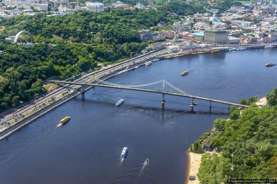 Bridges over the Dnieper River in Kyiv, Ukraine, photo 8