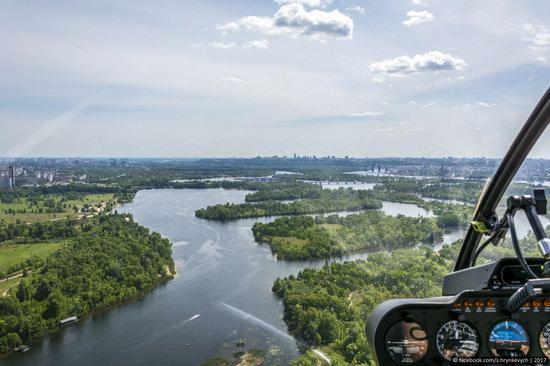 Bridges over the Dnieper River in Kyiv, Ukraine, photo 9