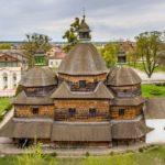 Wooden Church of the Holy Trinity in Zhovkva