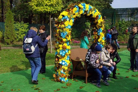 Ball of Chrysanthemums, Feldman Ecopark, Kharkiv, Ukraine, photo 10