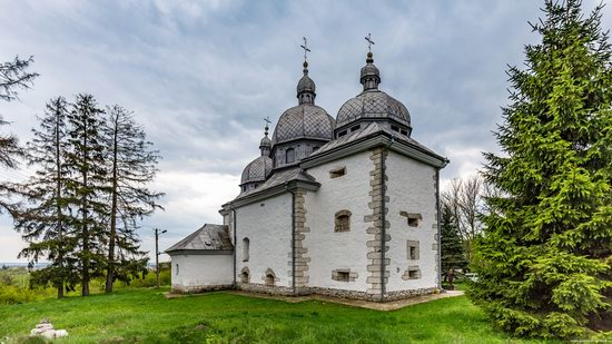Defensive Church of Transfiguration in Zaluzhzhya, Ukraine, photo 1