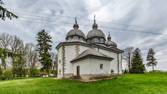 Defensive Church of Transfiguration in Zaluzhzhya, Ukraine, photo 8