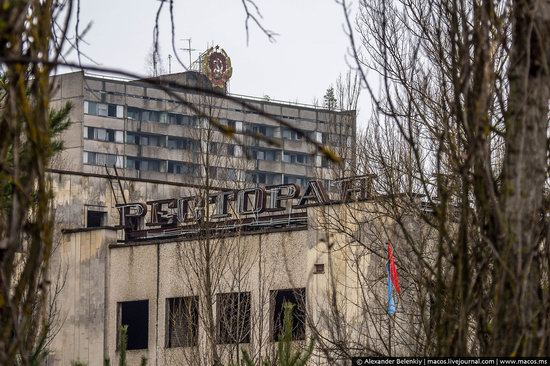 Pripyat, Ukraine - 32 years after evacuation, photo 19