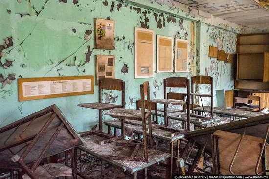 Pripyat, Ukraine - 32 years after evacuation, photo 28