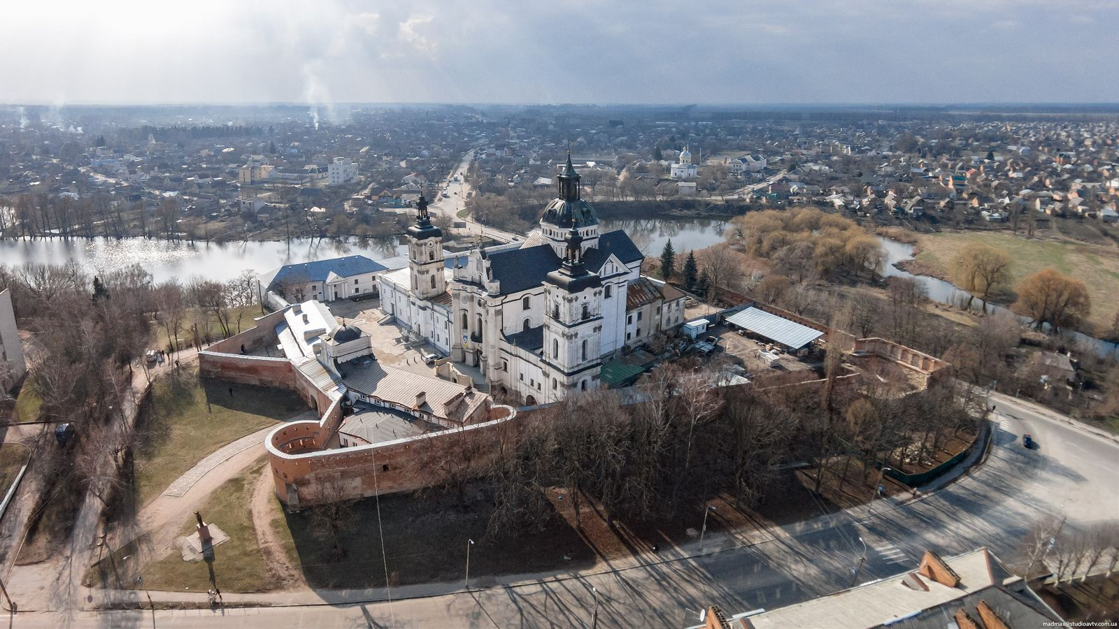 Fortified Monastery of the Barefoot Carmelites in Berdychiv