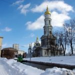 Spring in Kharkiv – after a heavy snowfall
