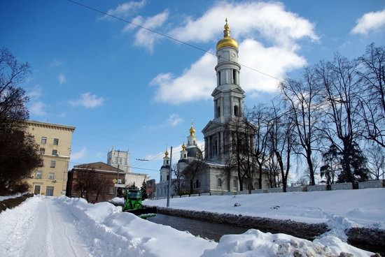 Spring in Kharkiv, Ukraine - after a heavy snowfall, photo 1