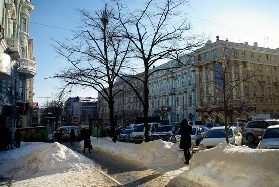 Spring in Kharkiv, Ukraine - after a heavy snowfall, photo 19