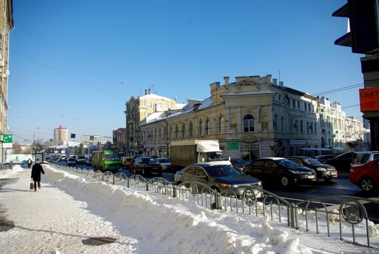 Spring in Kharkiv, Ukraine - after a heavy snowfall, photo 20