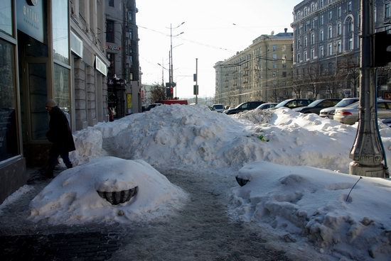 Spring in Kharkiv, Ukraine - after a heavy snowfall, photo 21