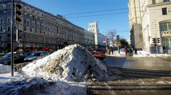 Spring in Kharkiv, Ukraine - after a heavy snowfall, photo 22