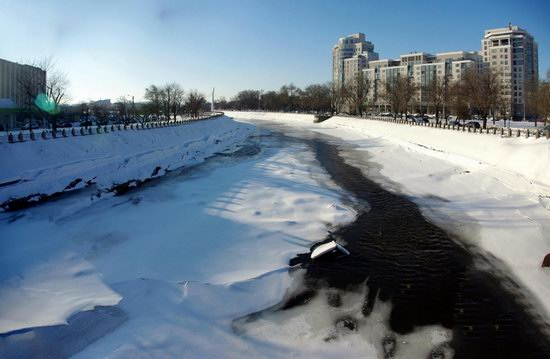 Spring in Kharkiv, Ukraine - after a heavy snowfall, photo 27