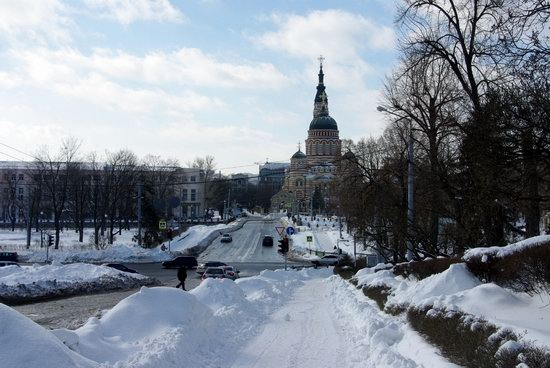 Spring in Kharkiv, Ukraine - after a heavy snowfall, photo 3