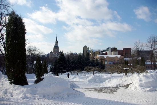 Spring in Kharkiv, Ukraine - after a heavy snowfall, photo 6