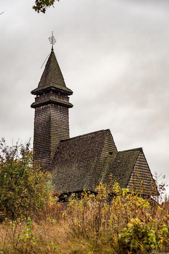 Wooden Churches St. Nicholas in Serednje Vodyane, Ukraine, photo 4