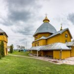 Church of the Descent of the Holy Spirit in Vykoty