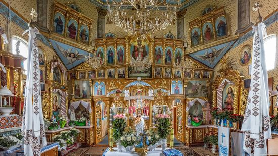 Holy Spirit Church in Vykoty, Lviv region, Ukraine, photo 10