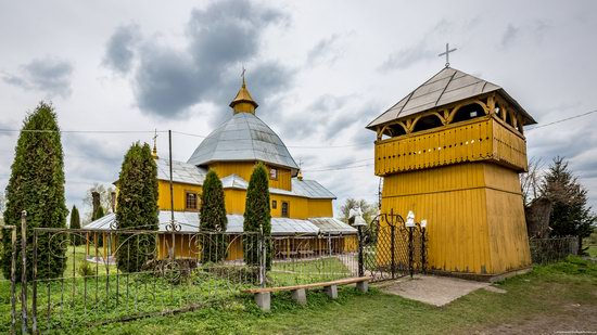 Holy Spirit Church in Vykoty, Lviv region, Ukraine, photo 13