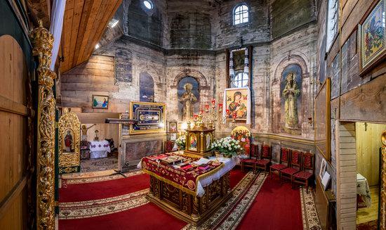 St. Nicholas Church in Kamianka-Buzka, Lviv region, Ukraine, photo 11