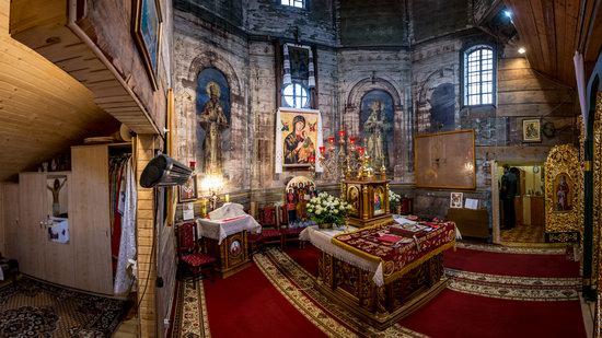 St. Nicholas Church in Kamianka-Buzka, Lviv region, Ukraine, photo 12