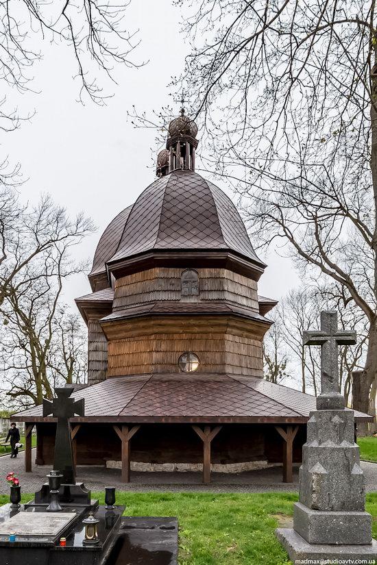 St. Nicholas Church in Kamianka-Buzka, Lviv region, Ukraine, photo 15