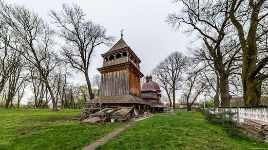 St. Nicholas Church in Kamianka-Buzka, Lviv region, Ukraine, photo 3