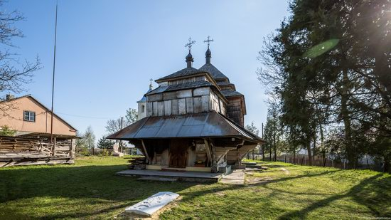 Assumption Church in Klits'ko, Lviv region, Ukraine, photo 10