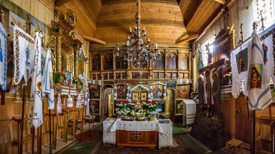 Assumption Church in Klits'ko, Lviv region, Ukraine, photo 11