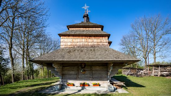 Assumption Church in Klits'ko, Lviv region, Ukraine, photo 7