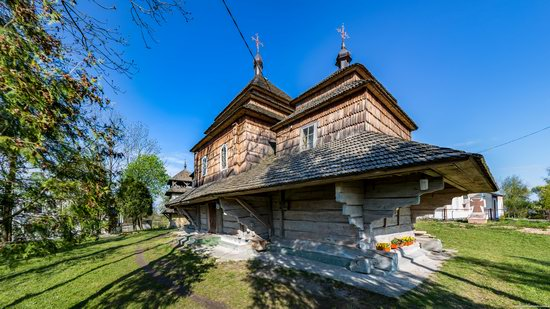 Assumption Church in Klits'ko, Lviv region, Ukraine, photo 8