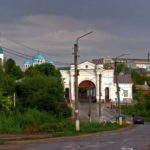Walking through the streets of Hlukhiv