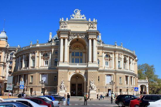 Walking around Odessa, Ukraine in May, photo 1