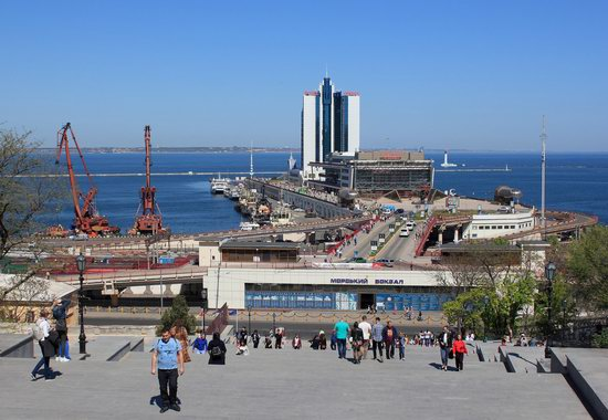 Walking around Odessa, Ukraine in May, photo 11