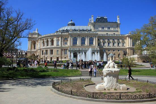 Walking around Odessa, Ukraine in May, photo 7