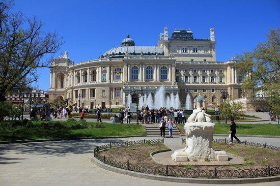 Walking around Odessa, Ukraine in May, photo 7