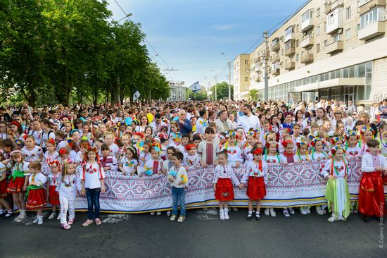 Vyshyvanka Day 2018 in Mariupol, Ukraine, photo 1