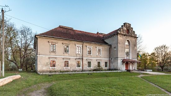 Strachocki Palace in Mostyska, Lviv region, Ukraine, photo 10