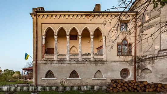 Strachocki Palace in Mostyska, Lviv region, Ukraine, photo 5