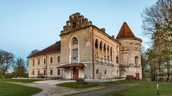 Strachocki Palace in Mostyska, Lviv region, Ukraine, photo 6