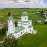 Church of the Three Saints in Lemeshi