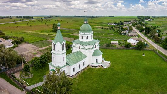 Three Saints Church in Lemeshi, Ukraine, photo 1