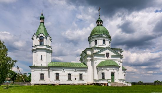 Three Saints Church in Lemeshi, Ukraine, photo 3