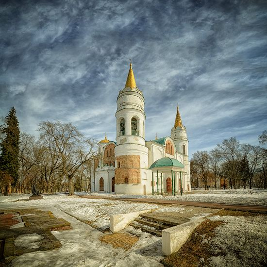 Beautiful old churches of Chernihiv, Ukraine, photo 1