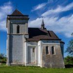 Defensive Roman Catholic Church in Bishche