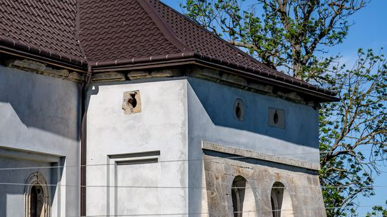 Defensive Roman Catholic Church in Bishche, Ukraine, photo 11