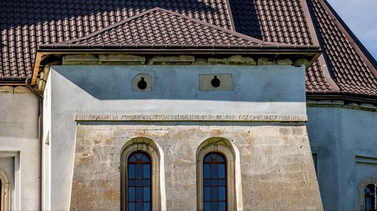 Defensive Roman Catholic Church in Bishche, Ukraine, photo 13