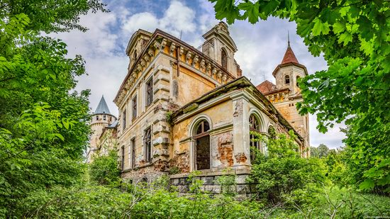 Abandoned Ray Mansion in Pryozerne, Ukraine, photo 10