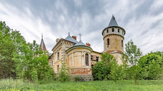 Abandoned Ray Mansion in Pryozerne, Ukraine, photo 12