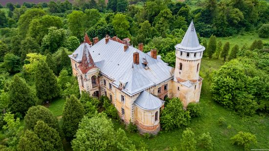 Abandoned Ray Mansion in Pryozerne, Ukraine, photo 13