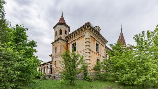 Abandoned Ray Mansion in Pryozerne, Ukraine, photo 8
